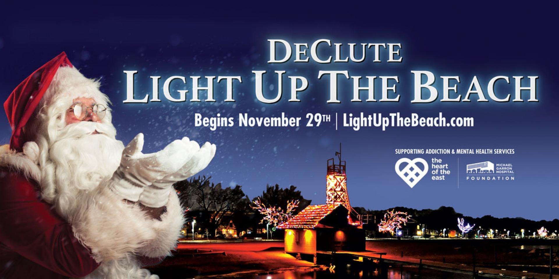 DeClute Light up the Beach begins November 29th at 7pm