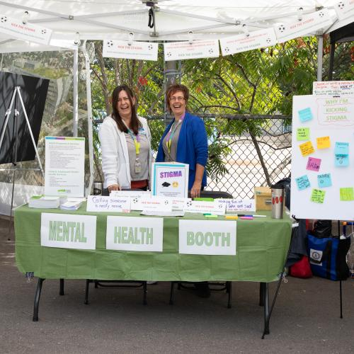 KTS mental health booth