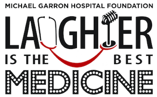 Logo for the Laugher is the medicine event