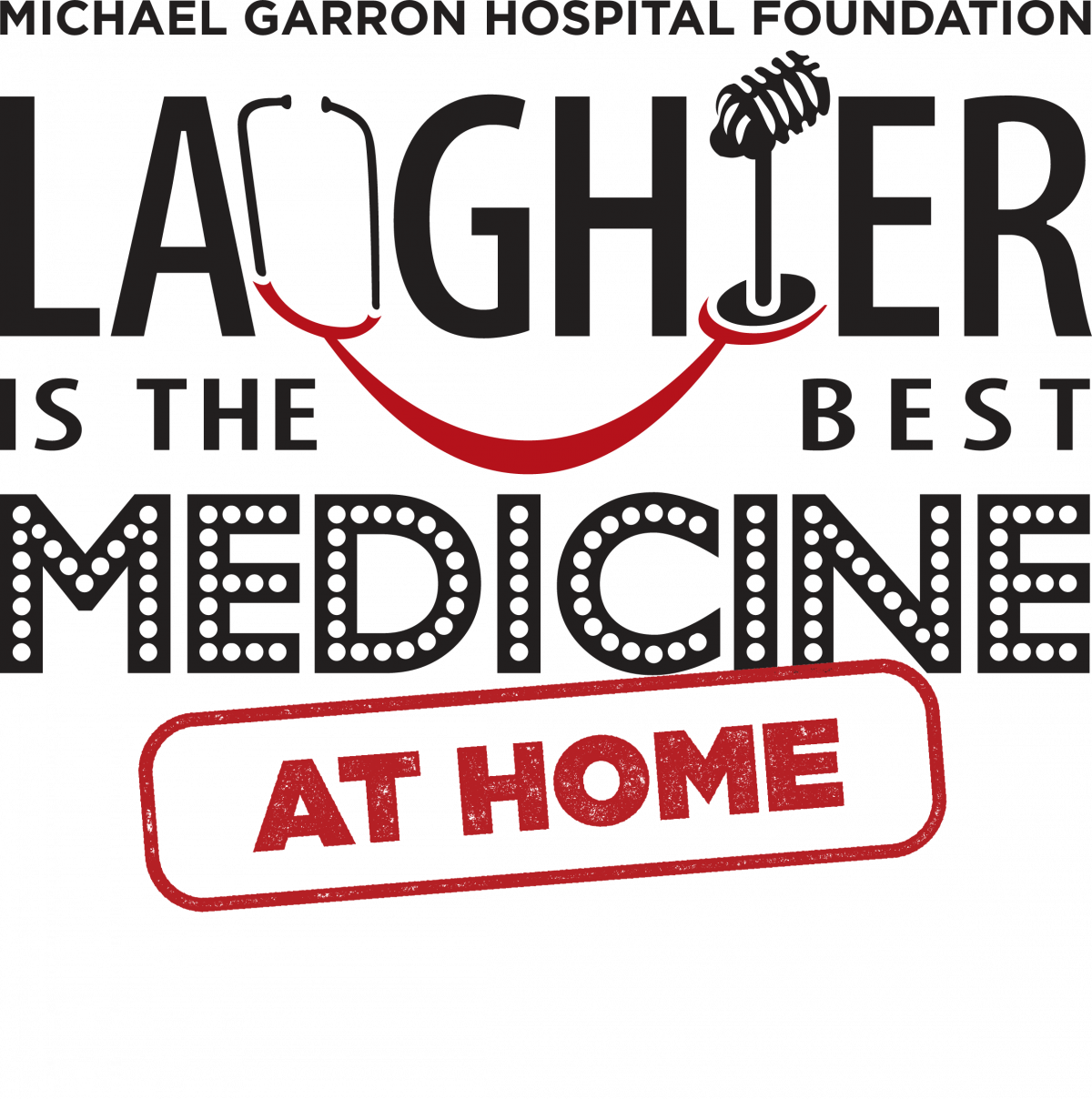Laughter is the Best Medicine at Home logo
